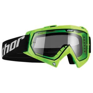 Thor Motocross Youth Enemy Flo Goggles, Fluorescent Green
